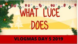 CHRISTMAS FAIR - VLOGMAS DAY 5 2019