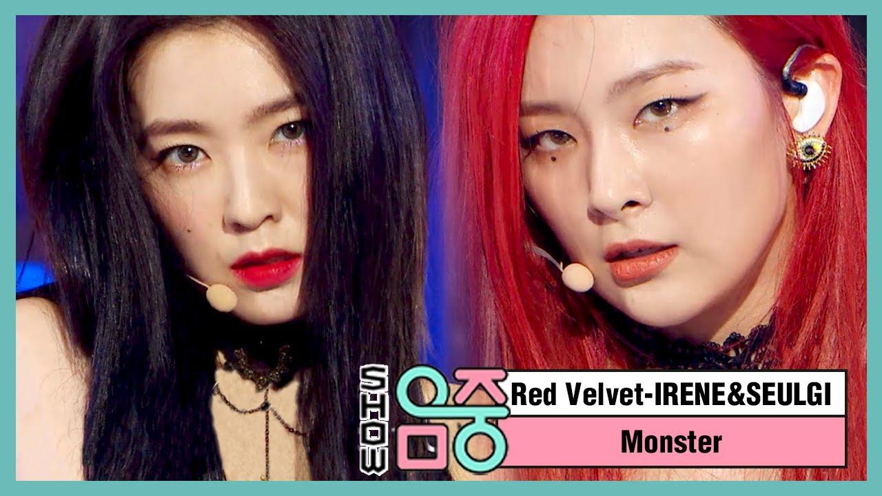 [쇼! 음악중심] 아이린&슬기(레드벨벳) -몬스터  (Red Velvet, IRENE & SEULGI -Monster) 20200711
