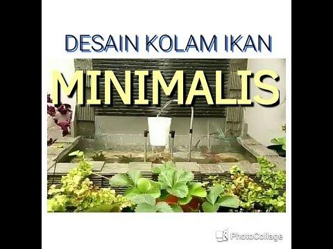 DESAIN KOLAM IKAN MINIMALIS || DESIGN OF A MINIMALIST FISH POND