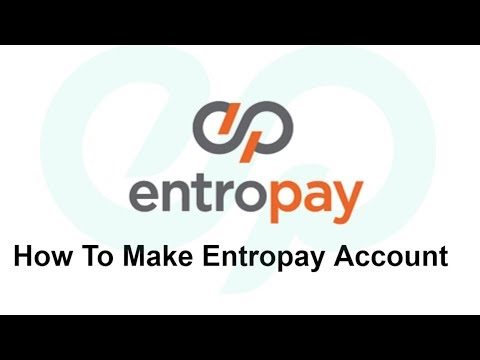 How to make entropay virtualcard And verification of Account
