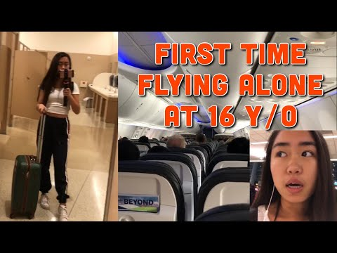 TRAVELING ALONE AT 16 | 1st TIME (GOT LOST)