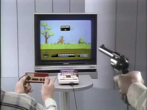Famicom Beam Gun Commercial