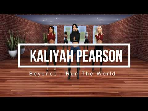 The Sims 4 | Kaliyah Pearson | Beyonce - Run The World (Girls)| Dance CHOREOGRAPHY + Download