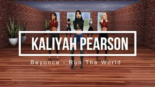 The Sims 4 | Kaliyah Pearson | Beyonce - Run The World (Girls)  | Dance CHOREOGRAPHY + Download