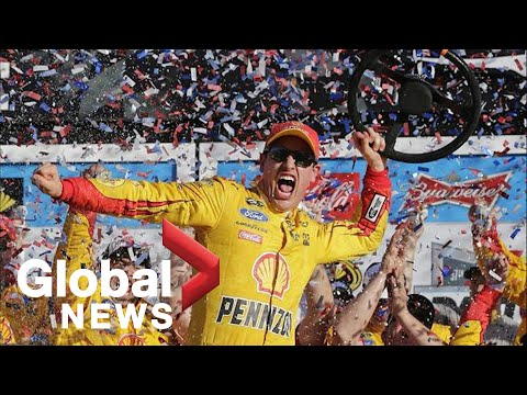 Trump welcomes NASCAR Cup Series champion Joey Logano to White House