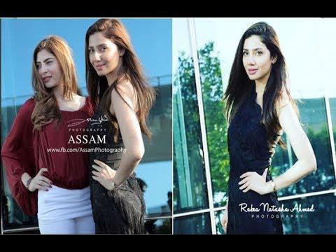 Mahira Khan and Naimal Khawar in Dubai for promotions of Verna