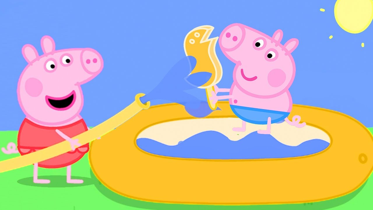 Peppa Pig Official Channel ♨️ Peppa Pig's Puddling Pool