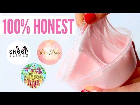 100% HONEST Famous Instagram Slime Shop Review! Famous US Slime Package Unboxing