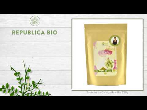 Proteina de Canepa Raw Bio 250g