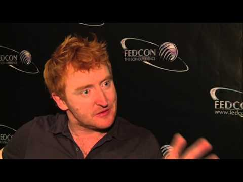Tony Curran Interview - Defiance - Doctor Who - FedCon 2014