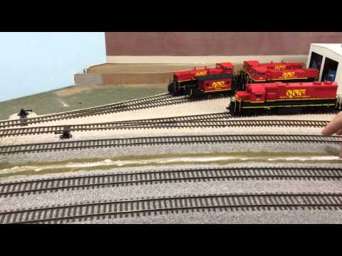 Q&NE HO Layout Video 029 - 141115