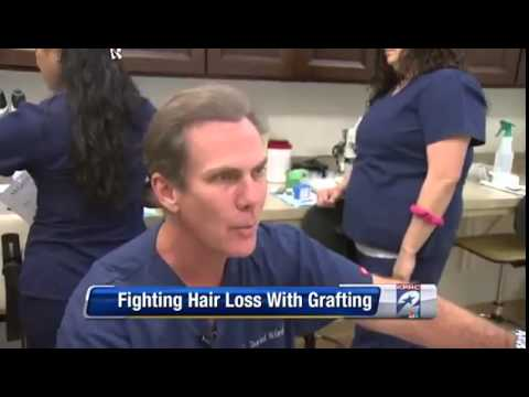 Houston TV Reporter Andy Cerota has Hair Transplant by Dr  McGrath