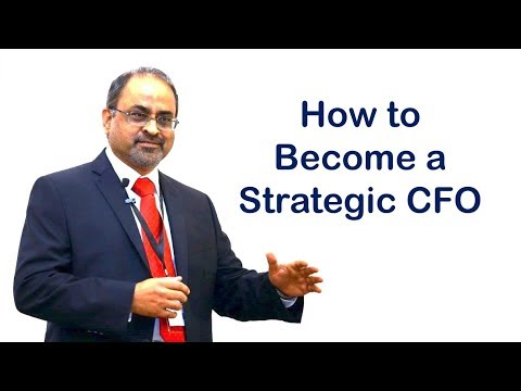 How to Become a Strategic CFO