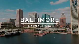 Baltimore, Maryland by Drone