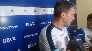 Juan Pablo Vojvoda, DT de Talleres antes del partido contra Tigre