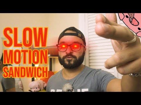 SLOW MOTION Sandwich Card Trick - Tutorial