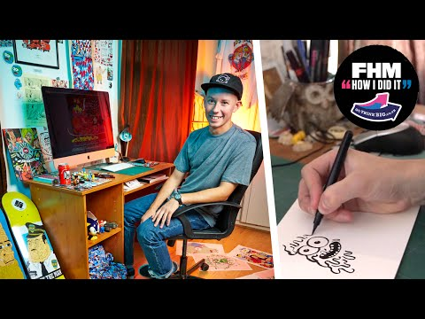 How I Did It with… Sam Taylor, freelance illustrator