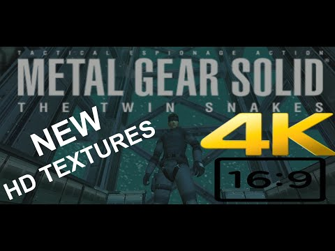 AI Is Being Used To Give Metal Gear Solid A 4K Remaster