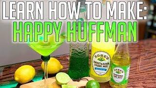 Comment Faire La Heureux Huffman (Midori Aigre) | AJ Le Barman