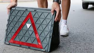 차량정리수납+비상반사판! 접이식다용도박스