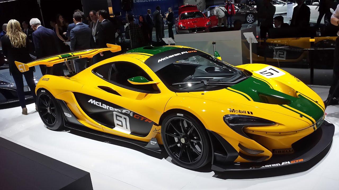 7b02683f2bce1a 2015 McLaren P1 GTR    NYIAS 2015 - YouTube