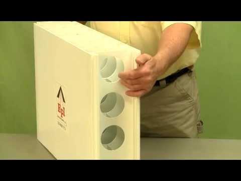 Concrete FORM System by Extrutech Plastics, Inc. - YouTube