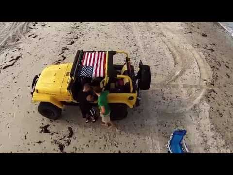 DUXMURICA - Drone video Duxbury Massachusetts beach police chase