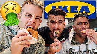IL CIBO DI IKEA FA CAG**E!!! *disgustoso* - IGNORANZA ALL'IKEA!!!