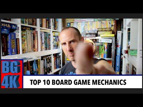 Top 10 Board Game Mechanics