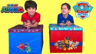 PJ MASKS and PAW PATROL TOYS SURPRISE BOX OPENING FUN Playtime With My Brother TBTFUNTV