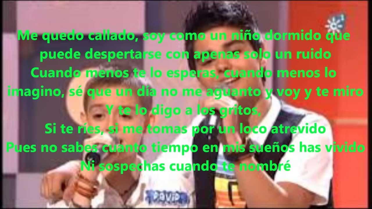 Abraham Mateo Y David Parejo Yo No Me Doy Por Vencido Letra Youtube