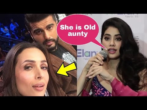 Janhvi Kapoor angry reaction on Malaika Arora for dating brother Arjun Kapoor