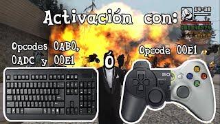 Cómo cambiar correctamente la activación de un cleo mod, vía teclado y/o mando (GTA San Andreas PC)