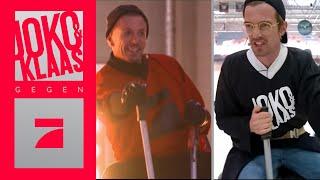 Michi & Smudo on Ice | Spiel 4: Aufsitz-Flügelglätter-Eishockey | Joko & Klaas gegen ProSieben