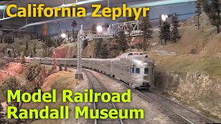 California Zephyr at the Randall Museum Train Layout (ex-GGMRC Layout) {{Music}}