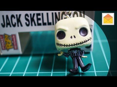 Nightmare Before Christmas Jack Skellington POP! Pocket Key Chain Figure Review