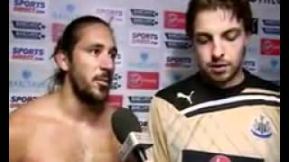 Tim Krul and Jonas Gutierrez interview