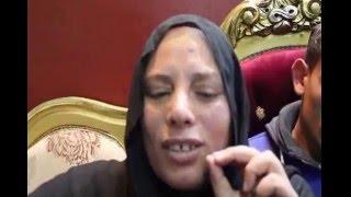 """بالفيديو   زوجة قتيل دمياط: """"أبو المعاطي كان بائع متجول وعضو في حملة السيسي.. والداخلية بتقول عليه إخوان"""""""