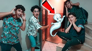 THE GHOST CASPER CAME TO MY HOME !! (Burak Memiş Fainted)