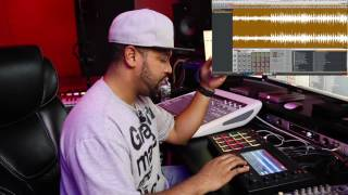 Kanye West Style Mash Up   MPC Touch Beat Making Demo Review   Marvelous Mad Symphony