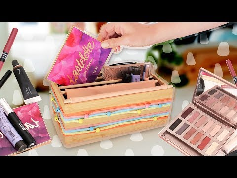 Get organized with dollar store items!!