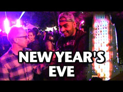 Joe Goes To A New Year's Eve Party