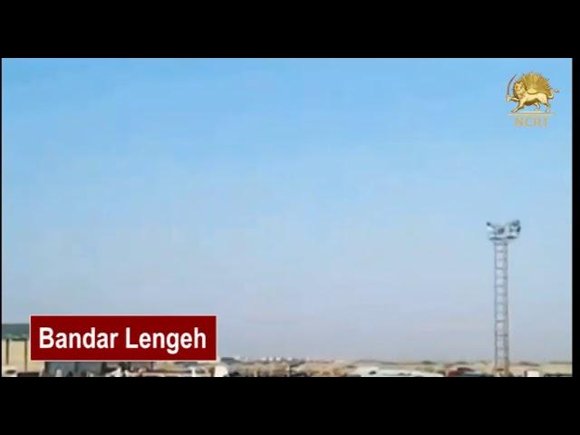 Bandar Lengeh, Iran. May 22, 2018, The Nationwide Strike of Heavy Truck Drivers