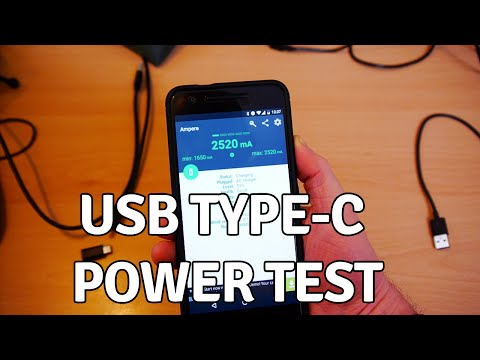 The USB Type-C Cable Power Test
