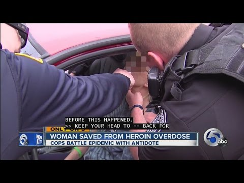 Woman saved from heroin overdose on camera