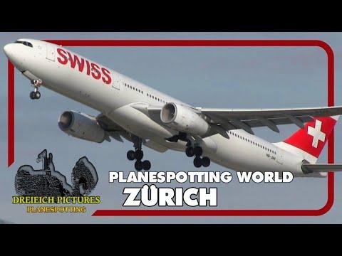 Planespotting World   Flughafen Zürich 2017