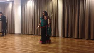 aaja nachle ghagra radha and gandi baat bollywood dance performance 2014