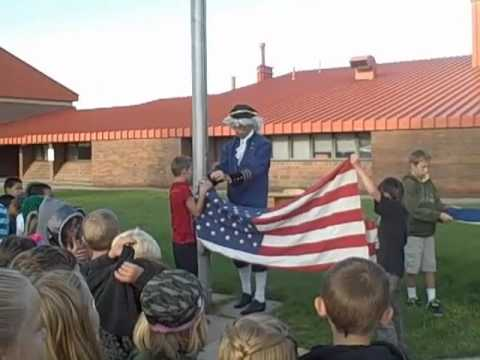 Constitution Day Celebration at Sunset Elementary School