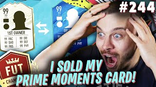 FIFA 20 I SOLD MY FIRST OWNER PRIME MOMENTS ICON & BOUGHT MY BEST EVER CARD in ULTIMATE TEAM!