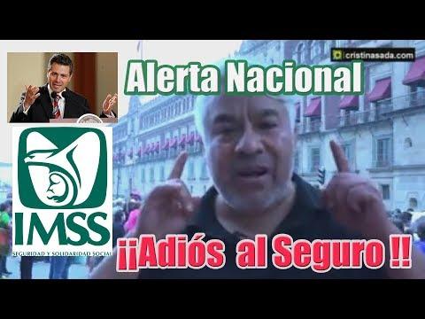 ¡Alerta México! Desaparece el Seguro Social. Peña Nieto firma el final de la salud para todos